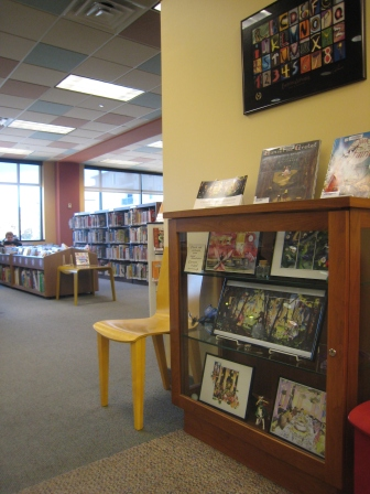 Edina Library Display and bookcases