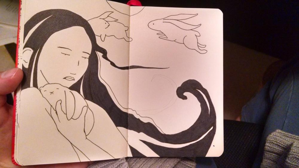 Sketch in Progress + Desk Friends (2/3)