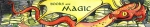 Red dragon on a horde of books Carmen Wood Illustration Minneapolis Minnesota comic art graphic novel children's illustration illustrator fantasy art webcomic fantasy magic lbgtquia+ kidlit